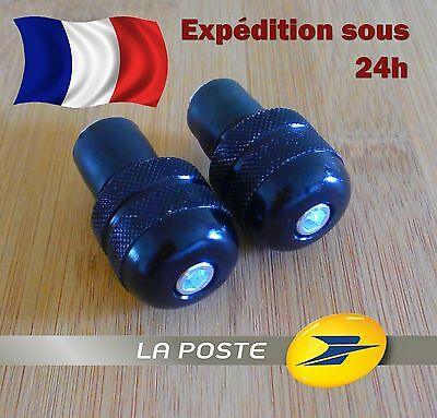 Embout de Guidon Moto / Quad / Scooter VTT UNIVERSAL Handle Bar End Final Pesos