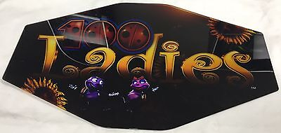 "Slot Machine Topper Insert ""100 Ladies"""