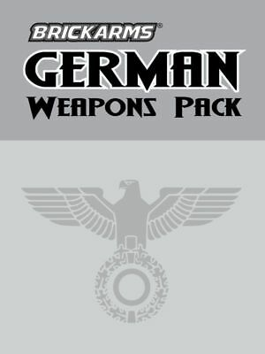 BrickArms German Weapons Pack Guns & Accessories for LEGO Minifigures NEW/SEALED
