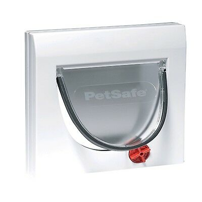 Staywell Manual 4 Way Locking Classic Cat Flap & Tunnel Pet Door (without tunne)