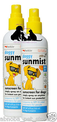 Doggy Sunmist Spray On Anytime For Instant Sun Protection SPF 15 Short Hair Dogs