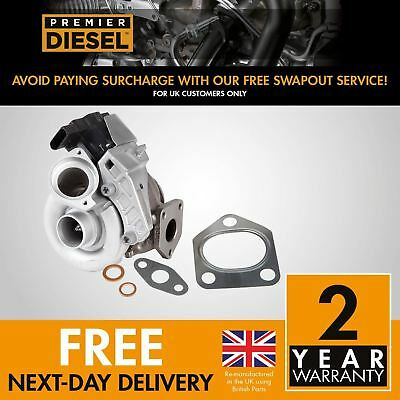 BMW 118 d E87 49135-05760 TF035 90 Kw 122 HP M47TU2D20 Turbocharger + Gaskets