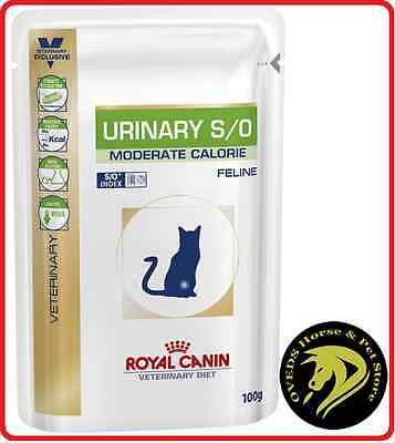 Royal Canin Feline Urinary S/O Moderate Calorie 12 Pouch X 100gms