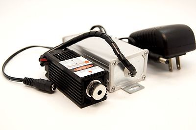 Focusable 450nm 1000mW-1200mW blue laser module with TTL/12V