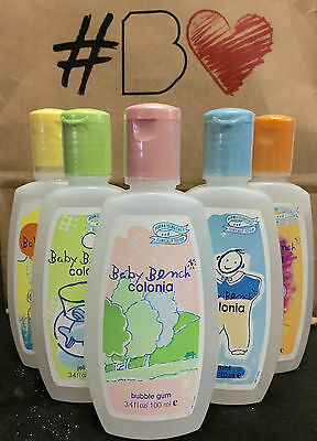 Authentic Baby Bench Summer Mild Sc Cologne 100ml Bubble Gum~Ice Mint~Gummy Bear