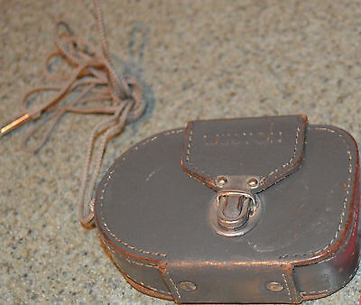 Vintage Weston Master IV light meter in leather case no directions