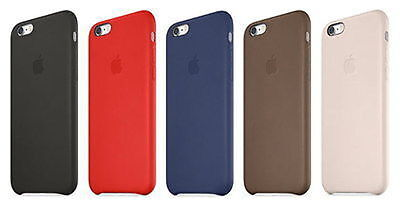 Genuine Apple Leather Cover Case For iPhone 6S NEW