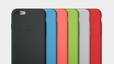 Genuine Apple Silicone Cover Case For iPhone 6S NEW