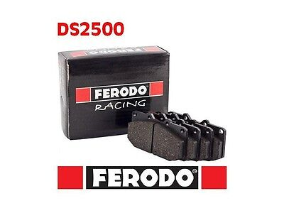 93A-FCP1319H PLAQUETTES DE FREIN FERODO RACING DS2500 FORD Fiesta (5) 2.0 ST150