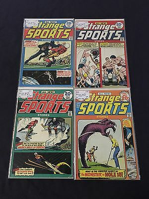 DC Comics 1974 Strange Sports Lot Of 4 #3-#6 All VG