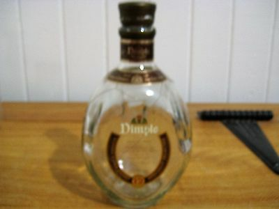 Collectable Dimples Blended Scoth Whiskey Bottle 700Ml Made In Scotland