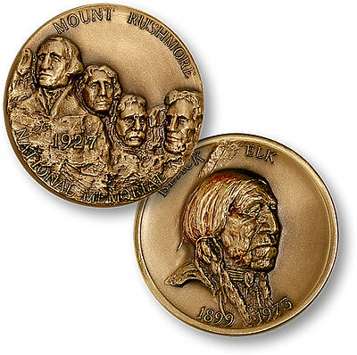 Mt. Rushmore National Park & Monument Medal - Bronze Challenge Coin