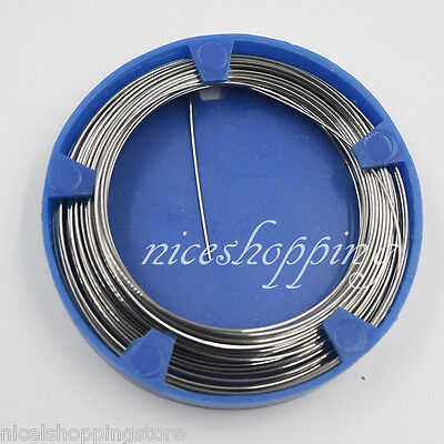 New 0.8 mm Dental Stainless Steel Wire Orthodontic Surgical Supply Instruments