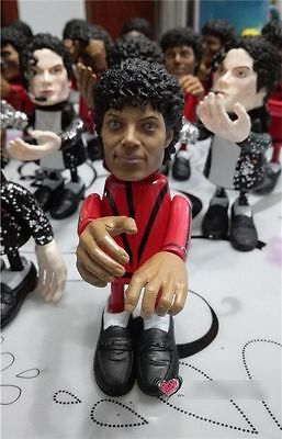 Michael Jackson Figure Thriller Zombie Doll King Pop Statue New Box Set Toy Gift