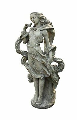 Napco Girl In The Wind Garden Statue, 36-Inch Tall, New, Free Shipping