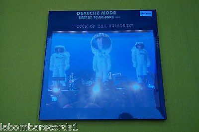 DEPECHE MODE Berlin 10.06.2009 Tour of the universe BOX clear  (SEALED) 3LP