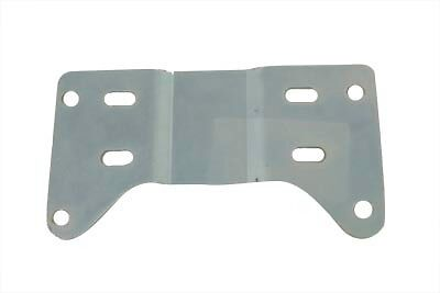 Transmission Mounting Plate 5 Speed on 4 Speed Frame Harley Zinc Plated Steel