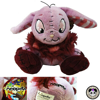 2006 Neopets Plushie Cybunny Plush Stuffed Animal Toy Bunny Rabbit With Tags