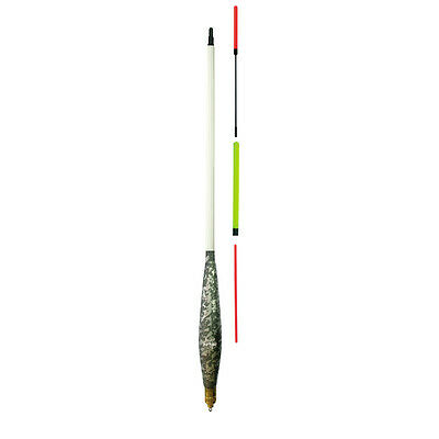 TF 8013 New Brand Loaded Fishing Waggler Floats + 3 Tips All 5 Size