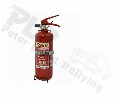 2.0 Ltr Hand Held Fire Extinguisher, MSA RACE/RALLY/ROAD/TRACK