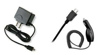 Car+2 Amp Travel Wall Home Charger Accessory For Verizon Ellipsis 8 Tablet