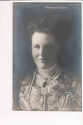 Vintage Postcard Queen Wilhelmina of the Netherlands