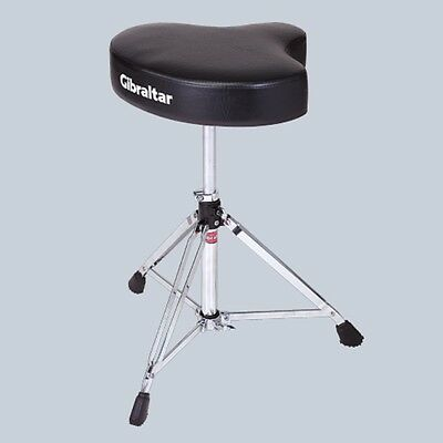 Drum Throne Drumming Stool Guitar Swivel Chair Motorcycle Style Adjustable Seat