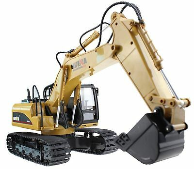 Huina 15 Channel 2.4G Crawler Full-Function Remote Control Excavator