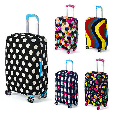 "18""-28"" Elastic Dust-proof Travel Luggage Trolley Suitcase Cover Protection Bag"