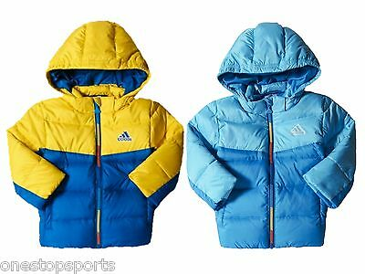 adidas baby boys down padded coat. Infants coat. Infant jacket. Various sizes!