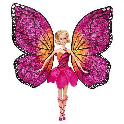 "Barbie Mariposa & The Fairy Princess 12"" Doll NEW with Wings and Dress"