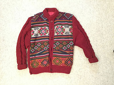 Sweater Jacket Handmade in Bhutan