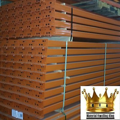 Pallet Racking Teardrop Style Rack Warehouse Shelving 96'' x 4'' Beams