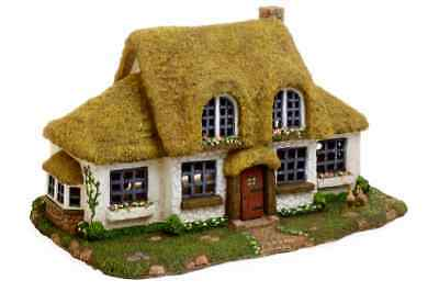 Miniature Dollhouse FAIRY GARDEN ~ Large Thatched English Cottage ~ NEW