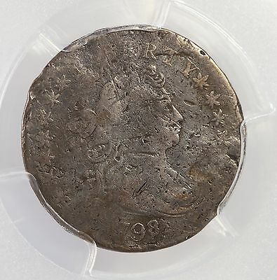 1798/7 Draped Bust 10C PCGS Certified F Details Early Silver Dime 16 Star Rev