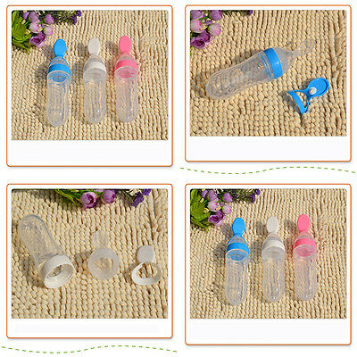 LoveCute Boon Squirt Baby Milk Bottle Food Dispensing Feeding Spoon Three Colors