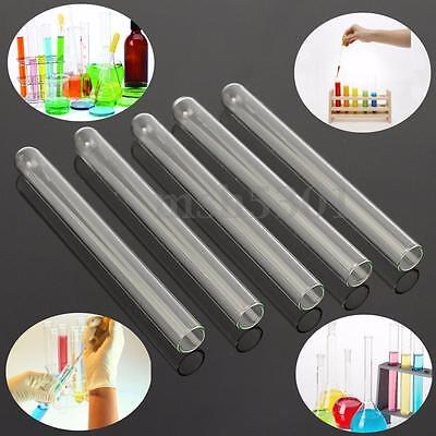 5 Pcs 100 mm Pyrex Glass Blowing Tubes 4 Inch Long  1 mm Thick Wall Test Tube