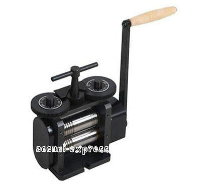 Flat Square & Half Round Combination Rolling Mill 110 mm Jewelry Tools