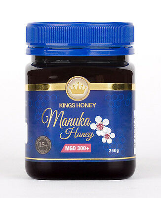 Kings Manuka Honey MGO 300, 250g Jar Product of New Zealand