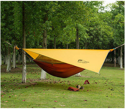 Naturehike 1 Person Outdoor Hammock Tent Camping  Hanging Bed DZ15D001-L