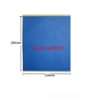 5 x 3D printer heated bed Blue High temperature tape 200mm*210mm Rubber Adhesive