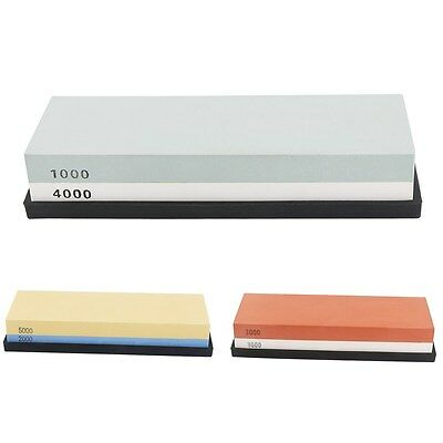 2000/5000 Double-Sided Sharpening Stone Waterstone Whetstone With Plastic Stand
