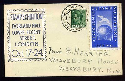 1936 The Stamp Exhibition London KEVIII Souvenir Cover