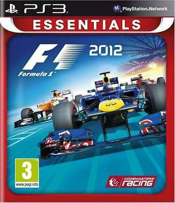 F1 2012 (Formula 1) - PS3 - brand new and factory sealed