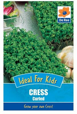 De Ree Cress Curled - Kids - Vegetable Seeds Pack of 1010