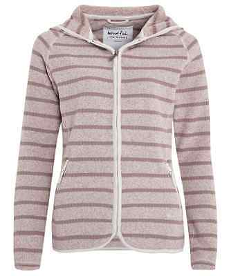 Weird Fish Women's Stripe Full Zip Hoody RRP £59.95