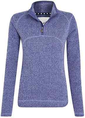 Weird Fish Women's Half Zip Soft Knit
