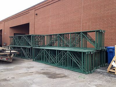 Used Pallet Racking - Structural Style Rack - Heavy Duty Shelving - 192'' x 42''