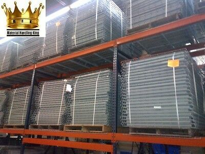 Pallet Rack Shelving Wire Deck Grid Shelves 42'' x 46'' Waterfall Style