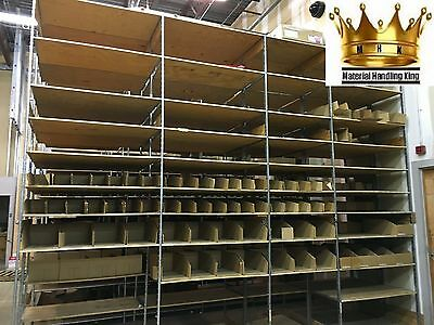 "Used Industrial Shelving 144''H x 24""D x 48""W"